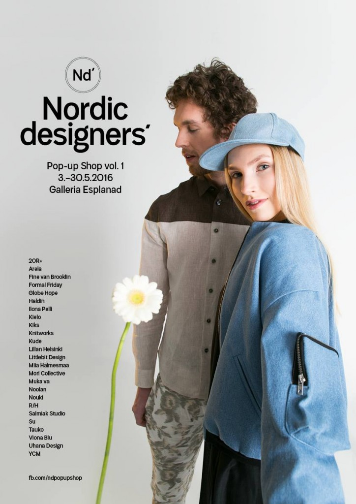 NORDIC DESIGNERS POP UP SHOP